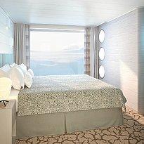 Schlafbereich Junior Suite - HANSEATIC inspiration