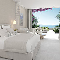 Junior Suite Private Garden - Ikos Aria