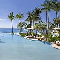 Lagoon Pool - Waldorf Astoria Maldives Ithaafushi
