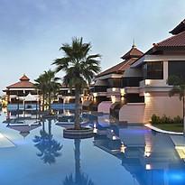 Lagunenpool des Anantara Dubai
