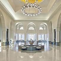 Lobby - Hilton Salwa Beach Resort