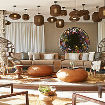 Lobby - Seven Pines Resort Ibiza