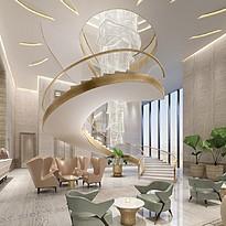 Lobby The St. Regis Dubai, The Palm