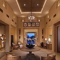 Lobby des Anantara Al Yamm Villa Resort