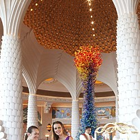 Lobby des Atlantis The Palm Dubai