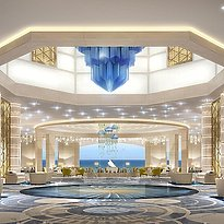 Lobby des Fairmont Abu Dhabi Marina