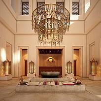 Lobby des Al Wathba Desert Resort & Spa