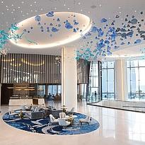 Lobby des Jumeirah Saadiyat Island Resort, Abu Dhabi