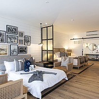 Luxury Room mit extra Schlafcoach - Shamwari Riverdene