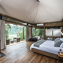 Luxury Tent - Kariega Game Reserve Settlers Drift