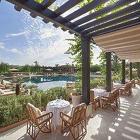 Mandarin Oriental Marrakech - Restaurant Pool Garden