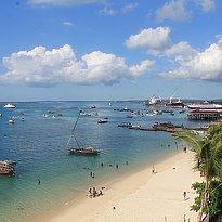Park Hyatt Zanzibar - Blick auf Hotelterrasse