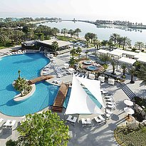Pool und Lagune des The Ritz-Carlton, Bahrain