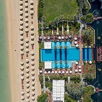 Pool und Strand - Jumeirah Zabeel Saray