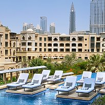Poolbereich - The Address Downtown Dubai
