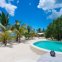 Privatpool Beachfront 1 BR Villa - White Sand Luxury Villas & Spa