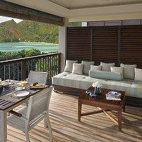 Panoramic Pool Villa -Terrasse