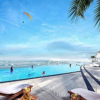 Rooftop Pool - Address Beach Resort