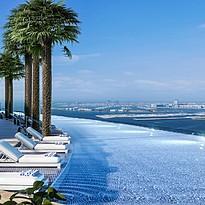 Rooftop Pool - Address Jumeirah Resort
