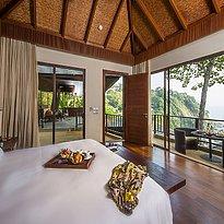 Schlafzimmer Cliff Pool Villa - Paresa Phuket