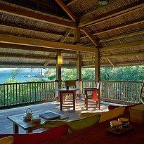 Six Senses Ninh Van Bay - Beachfront Pool Villa Wohnzimmer