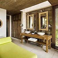 Badezimmer - Pool Villa, Ocean View & Ocean Front Pool Villa - Six Senses Samui