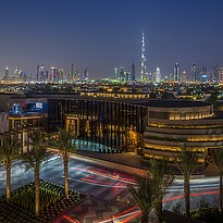 Skyline Dubai vom Four Seasons Resort
