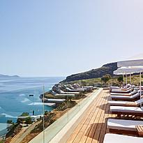 Sonnenterrasse - Lindos Blu Luxury Hotel & Suites