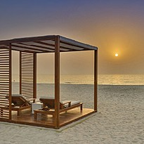 Sonnenuntergang am Strand - The Oberoi Ajman