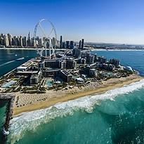 Strand des Caesars Palace Dubai