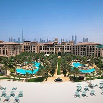 Strand des Four Seasons Resort Dubai