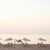 Strand am frühen Morgen