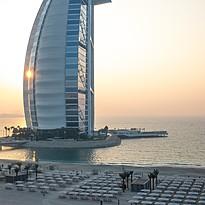 Strand des Jumeirah Beach Hotel