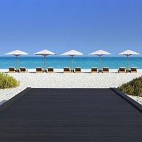 Strand des Park Hyatt Abu Dhabi Hotel and Villas