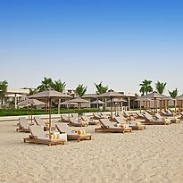 Strand des The Oberoi Beach Resort, Al Zorah