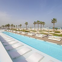 Swimmingpool - Nikki Beach Resort & Spa Dubai