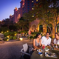 Terrasse des Nobu - Atlantis The Palm