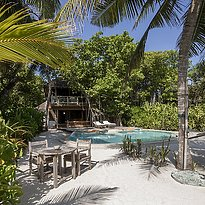 Crusoe Villa mit Pool - Soneva Fushi