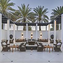 The Shisha Courtyard - The Chedi - Muscat