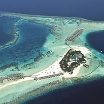 Vogelperspektive - Constance Moofushi Maldives