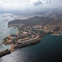 Vogelperspektive, vorne Al Husn - Shangri-La Barr Al Jissah - Al Bandar