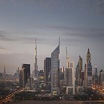 Wahrzeichen Dubais: Die Jumeirah Emirates Towers