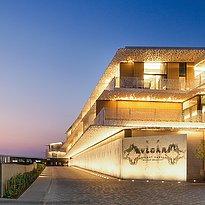 Zufahrt Bulgari Resort Dubai