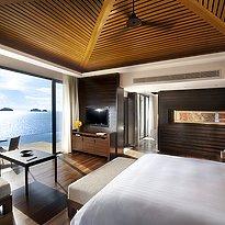 Conrad Samui - Oceanview Pool Villa Schlafzimmer