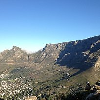 Kapstadt - Blick auf den Tafelberg