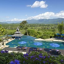 Anantara Golden Triangle - Swimming Pool