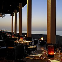The Beach Restaurant Terrasse - The Chedi - Muscat