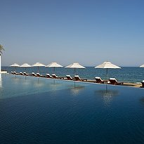 The Chedi Pool - The Chedi - Muscat