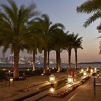 Gartenanlage des Fairmont, The Palm