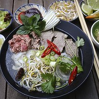 Pho - vietnamesiche Frühstückssuppe